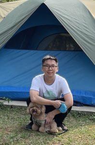 Camping Jamie